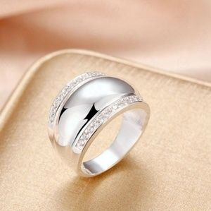 💖 Gorgeous Sterling Fashion Ring